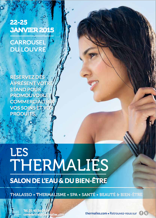 Affiche du salon les Thermalies 2015