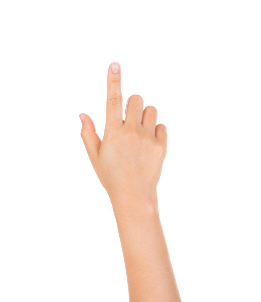 douleur doigt main