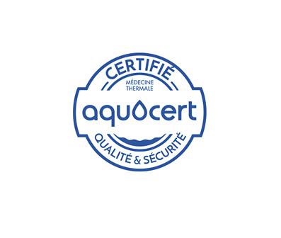 Logo certification AQUACERT HACCP
