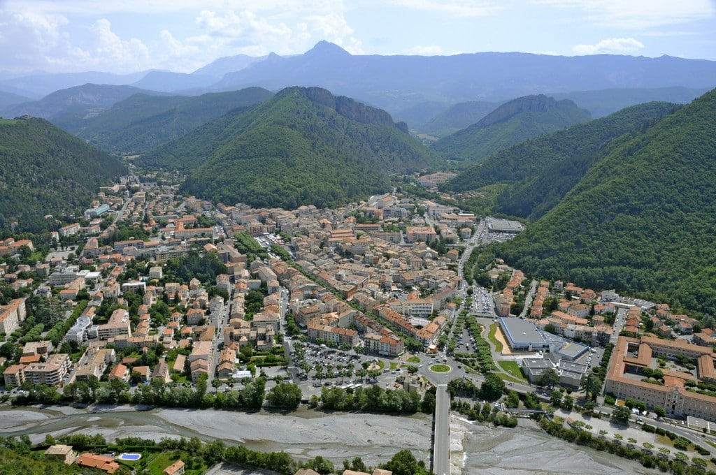 ville de Digne les Bains